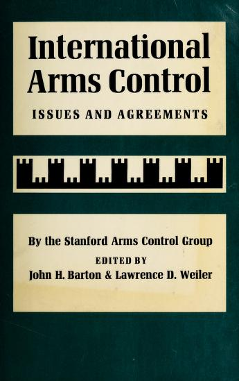 Cover of: International arms control | Stanford Arms Control Group.